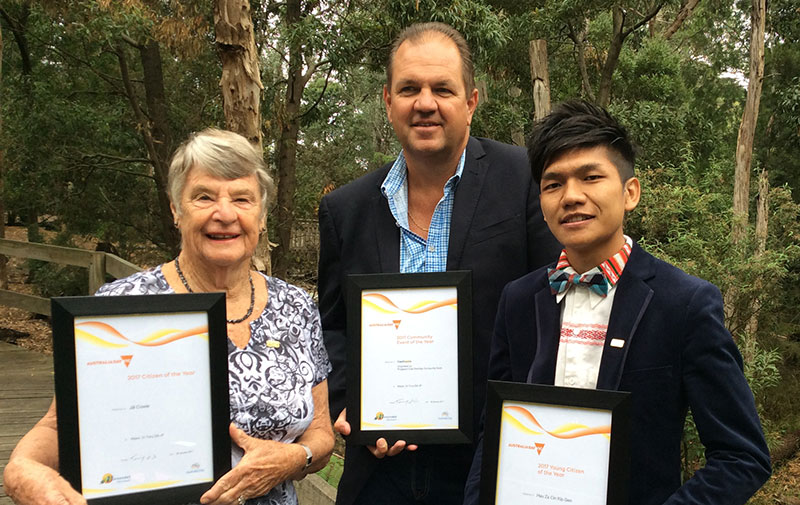 Australia Day Awards recipients