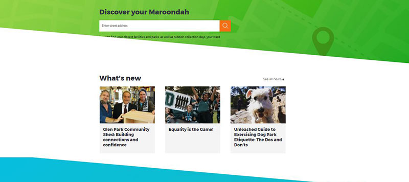 Maroondah website