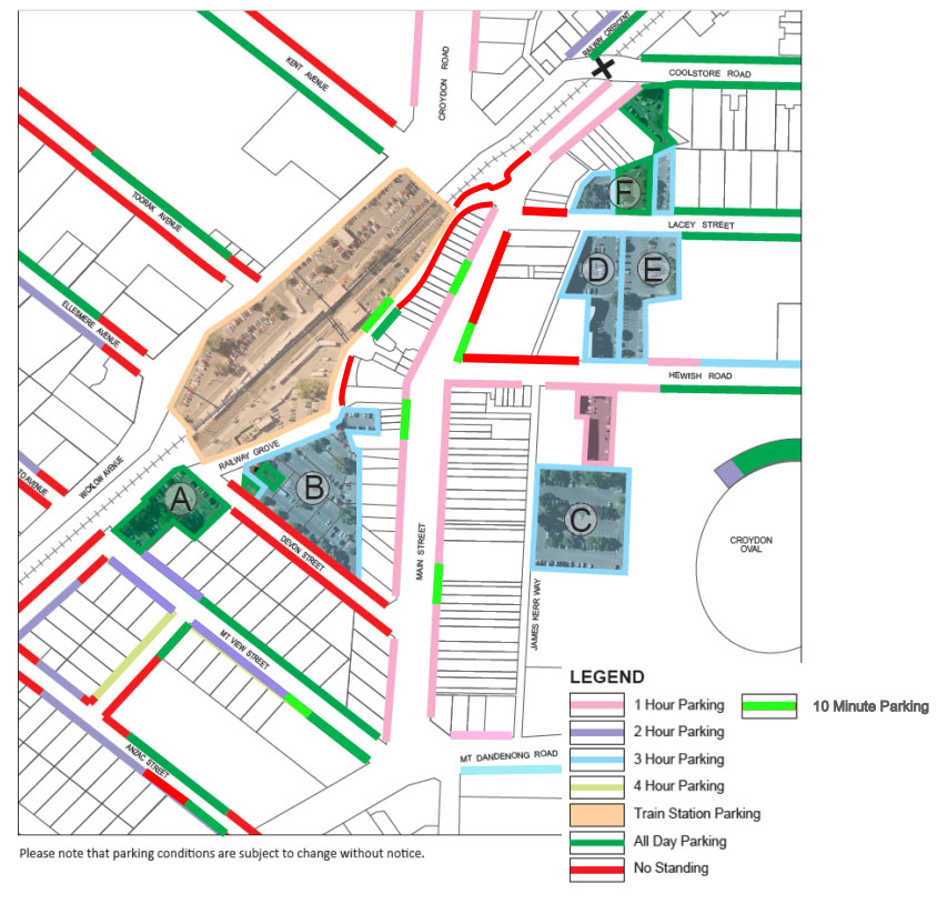 parking guidelines and restrictions maroondah city council