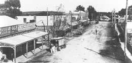 History of Croydon Main Street about 1925 photograph