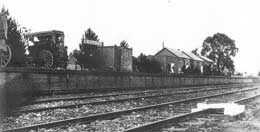 History of Croydon Railway station photograph