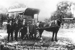 History of Ringwood coach photograph