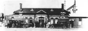 History of Ringwood Station photograph